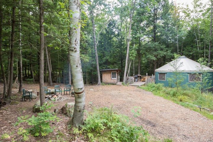 Fisher Ridge Yurt - Durham - Yurt
