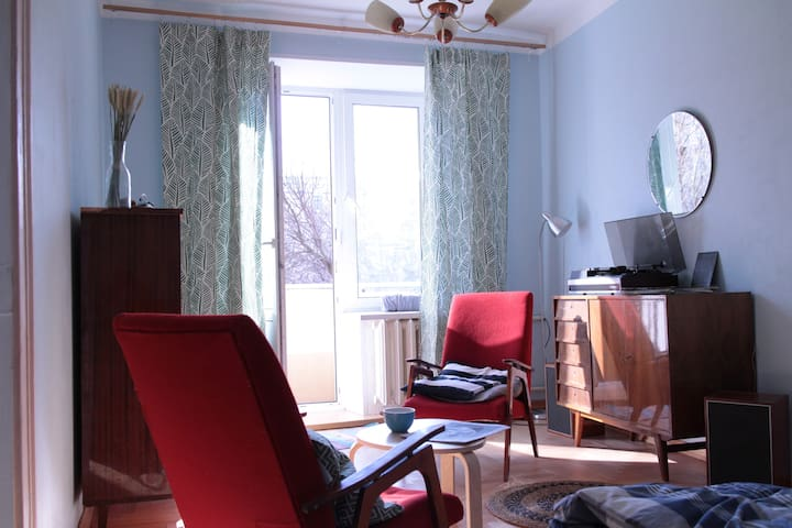 Artistic apartment with a sunny balcony. - Moskva - Appartement
