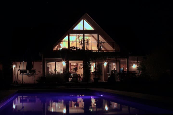 Architect house with pool 10x4m - Bligny-lès-Beaune - Hus