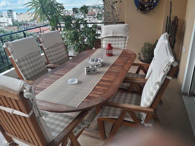 οροφοδιαμέρισμα με θέα στη Ναύπακτο - Nafpaktos - Apartamento
