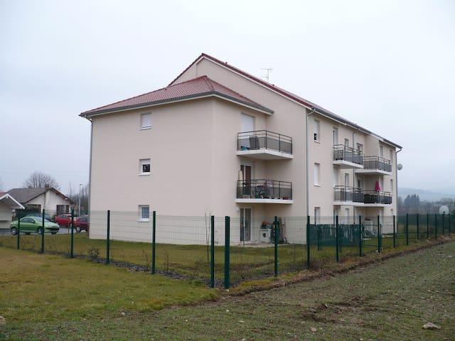Chambre partagée - dans un village calme - Fitilieu - Leilighet