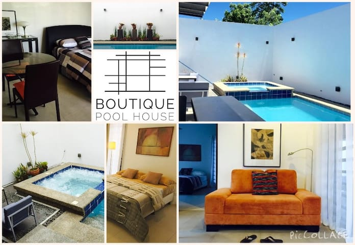 Boutique Pool House - Silang - Hus