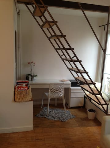 Elegant and Romantic Parisian Abode. - París - Casa de huéspedes