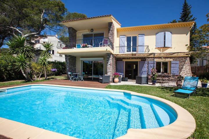 House groundfloor with Pool, 400 meters from sea - Saint-Raphaël - House