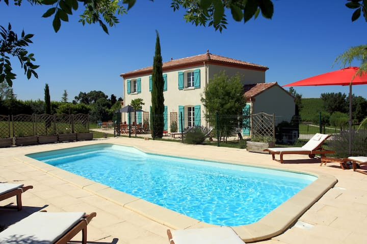 Modern Villa with Private Pool - Alaigne - Villa