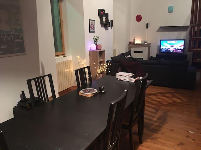 Chambre 2 personnes dans un appartement - La Voulte-sur-Rhône - Departamento