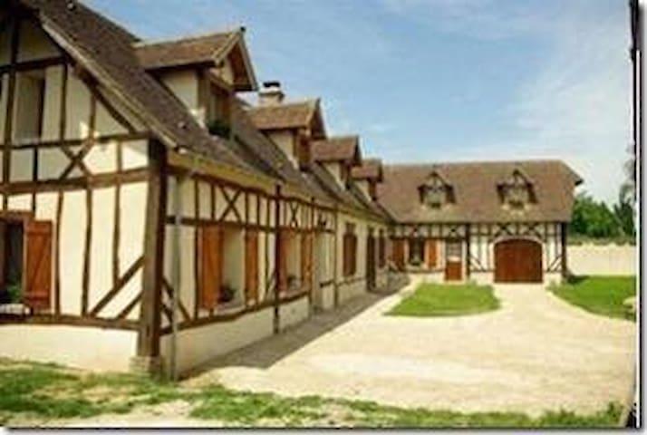 Grande longère normande avec spa - Illiers-l'Évêque - Huis