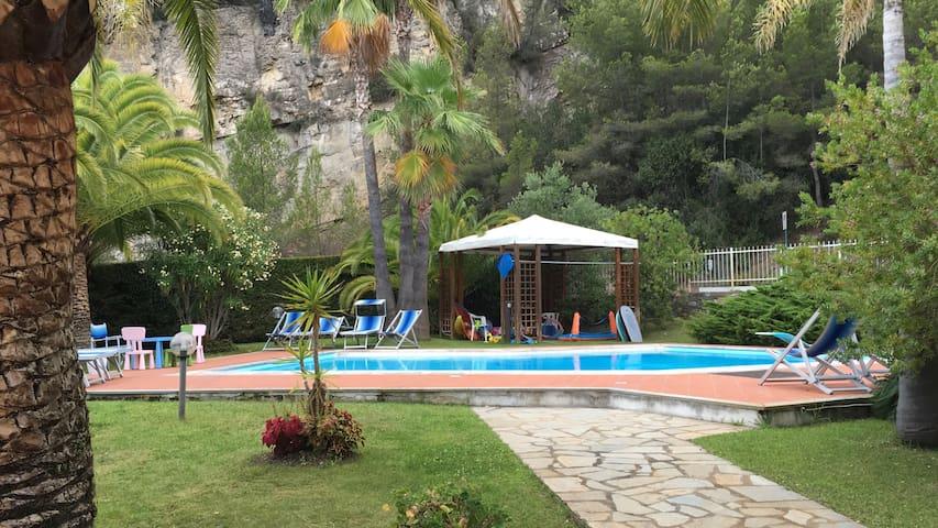 Beautiful villa in Liguria (Italy) - Capo Mimosa-rollo - 別荘
