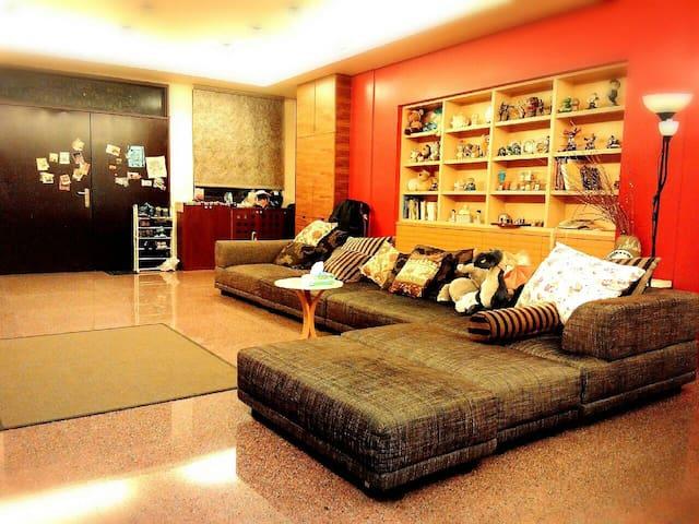 Komma,Chin-chin chez moi( incl. breakfast)-Library - 北屯區 - Bed & Breakfast