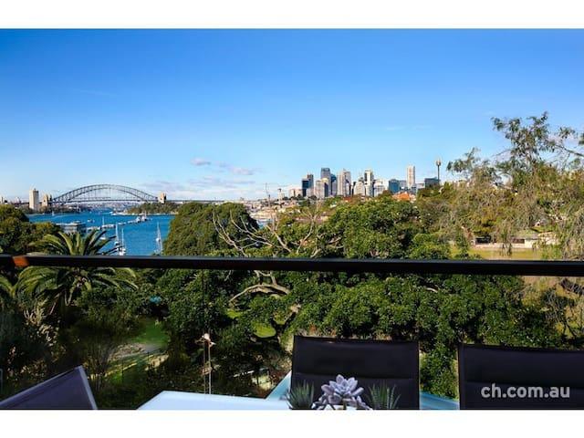 Double room with brilliant Sydney Harbour views - Birchgrove - Maison
