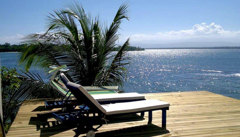 Sea front Villa with private beach - bocas del toro - Villa
