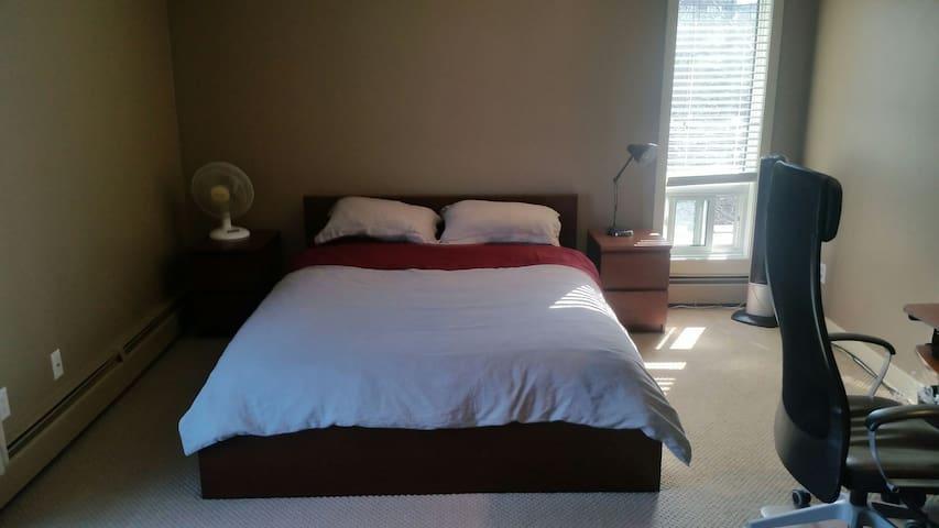 Private Penthouse Suite w/ Roof Top Patio - Edmonton - Daire