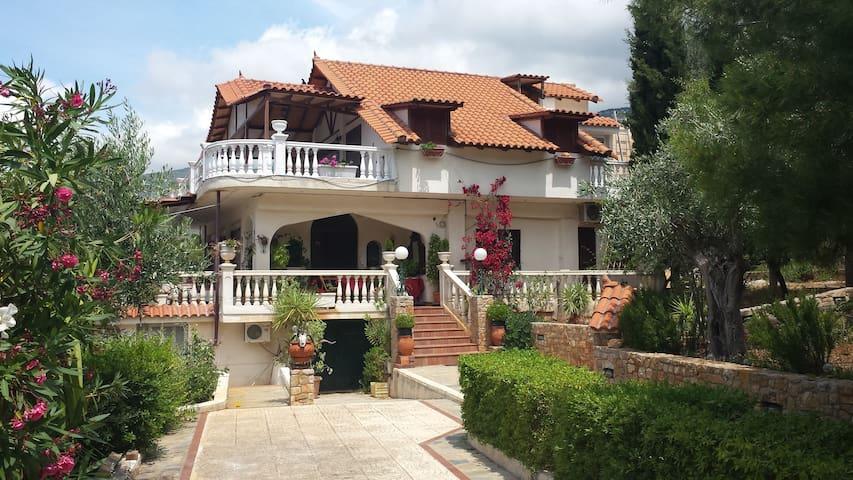 Villa GREISS Porto-Germeno  - Greece - Porto Germeno - Lägenhet