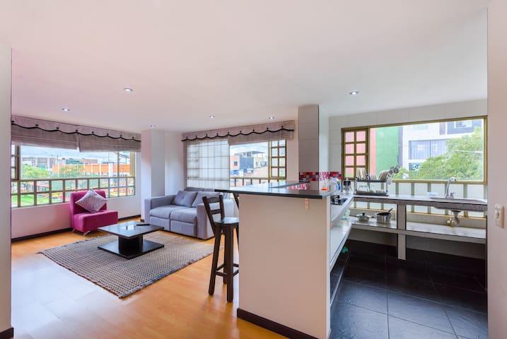 Cozy apartment near to Universidad Nacional - Bogotá - Apartemen
