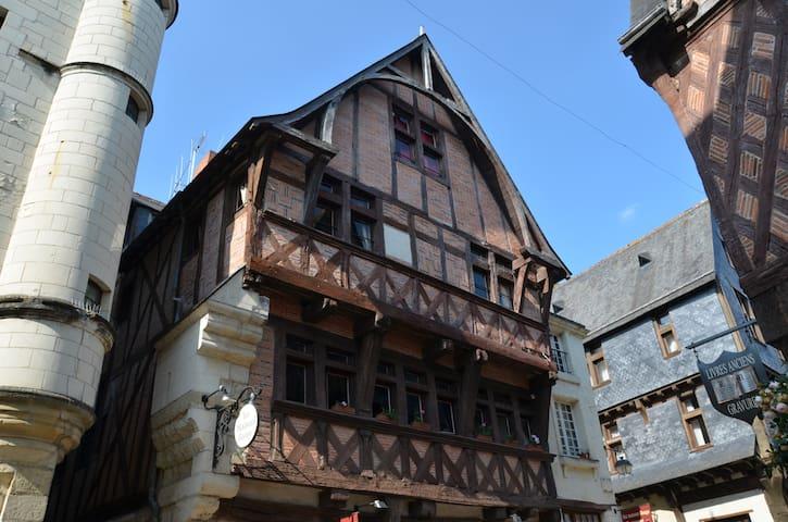 Cottage la Maison Rouge *** Chinon - Chinon - Appartement