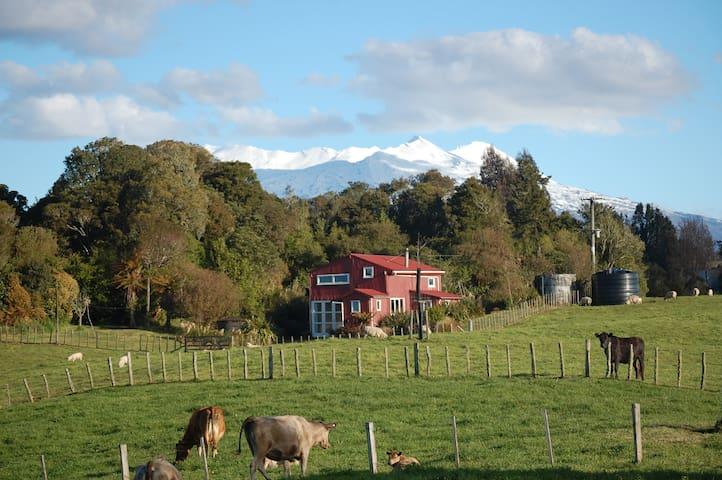 The Barn @ Wood Pigeon Lodge - Raurimu - Huis