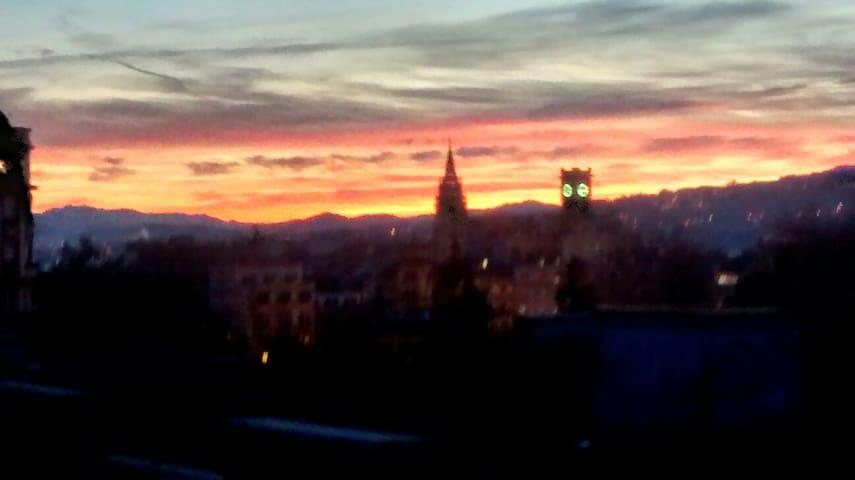 Ático céntrico con preciosa terraza - Oviedo - Maison
