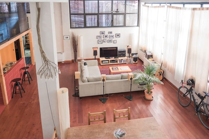 Bedroom in beautiful Loft near Porta Romana - Lodi - Milan - Loft