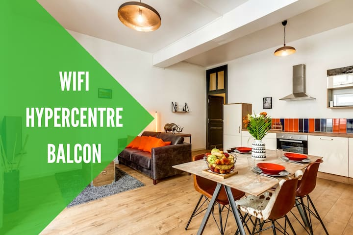HYPERCENTRE + WIFI + BALCON - Angers - Wohnung