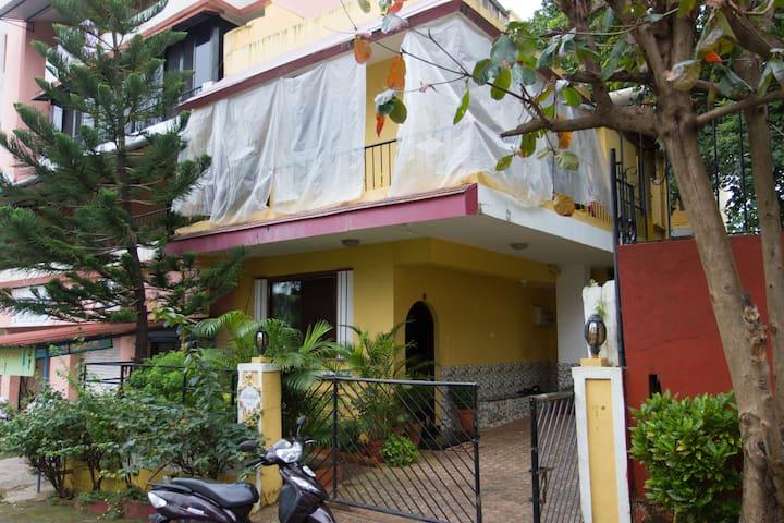 3 Bedroom Villa for a peaceful stay in Porvarim - Reis Magos - Apartamento
