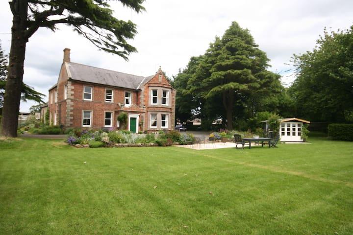 Grade ll listed Georgian Farmhouse - Berwick upon Tweed - Oda + Kahvaltı