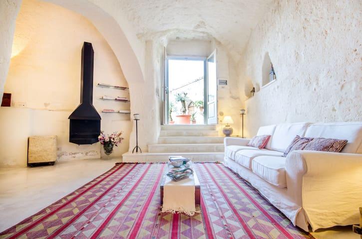 Relax in magical Sassi of Matera - Matera - Rumah Tanah