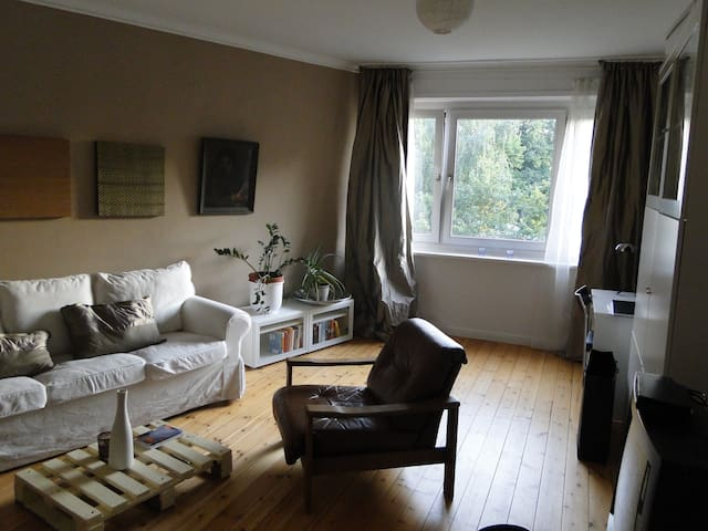 Central sunny room Alster Lake - Hambourg - Bed & Breakfast