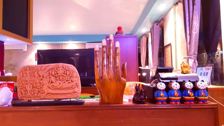 Super Hostel (Dorm room) Jacuzzi share bathroom - Pak Kret - Bed & Breakfast