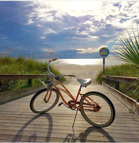 Sunny BeachHouse New-w/bikes (E12) - St. Pete Beach