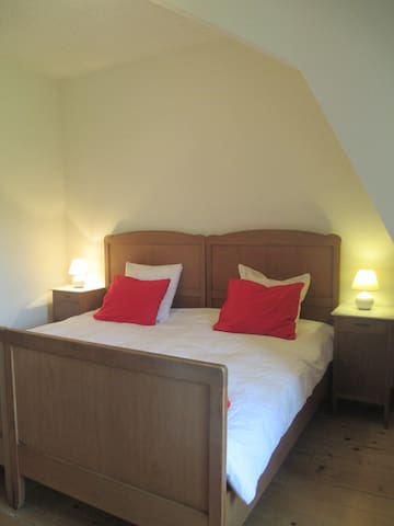 Junior-Suite for two in Traditional Swiss Villa - Lavey-Morcles