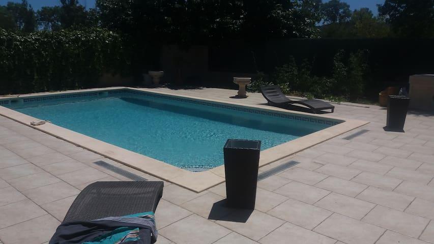 Nice house 15mn from de beach - Fabrègues - Villa