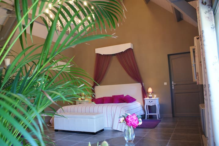 Chambre d'hôtes de charme avec spa - Calviac-en-Périgord - Bed & Breakfast