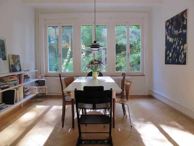 Beautiful flat close to city centre and nature - Zurique - Apartamento