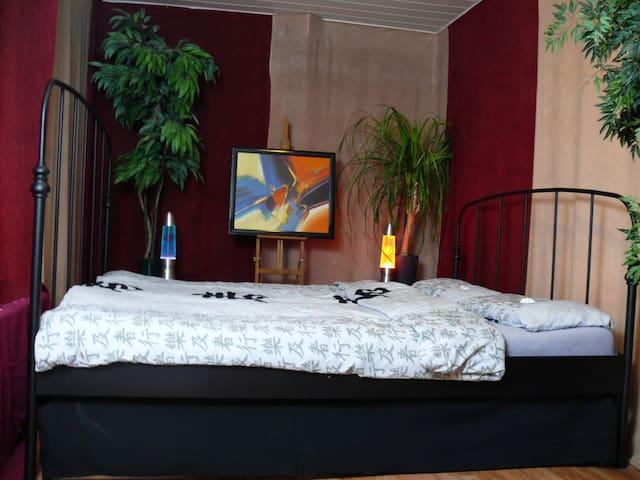 einzelnes Zimmer in idyllischer Wohnung - Vohburg an der Donau - Apartamento