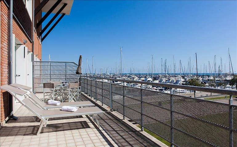 Comfy 1bdr apt w/terrace - Marina di Ravenna - Apartamento