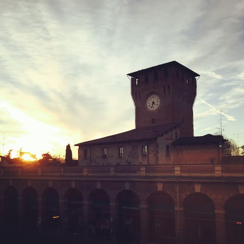 Accogliente mono 45mq in piazza - Montecchio Emilia