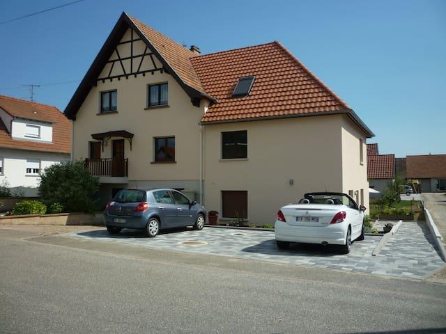 Gîte la clé des champs - Meistratzheim - Departamento