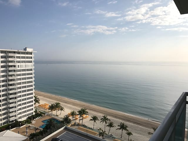 ocean view and private beach - Fort Lauderdale - Apartmen