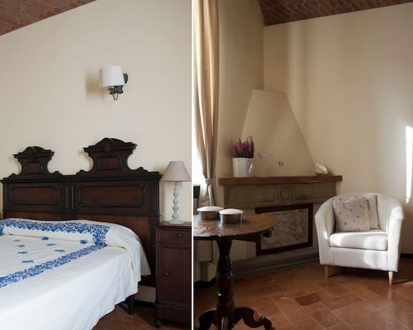 Lovely countryhouse on XVII estate - Turro - Bed & Breakfast