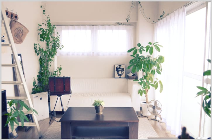 Quiet Private Room. 20 mins to Shibuya, Shinjuku. - Setagaya-ku - Leilighet