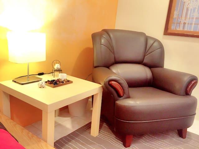 10分淡水*5分老街 New & Clean 1BD Own Bath - New Taipei City - Apartament