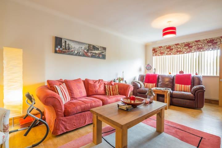 Private double room in Buckden. - Buckden - Casa