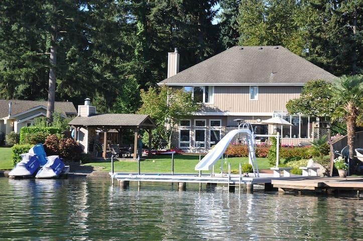 Lake Tapps Waterfront Home - Bonney Lake - House