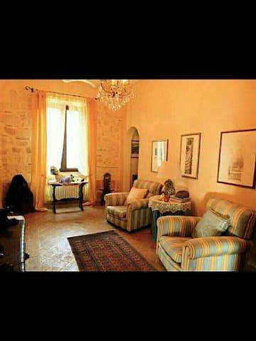 ANTICA DIMORA con splendida terrazza panoramica - Tarquinia