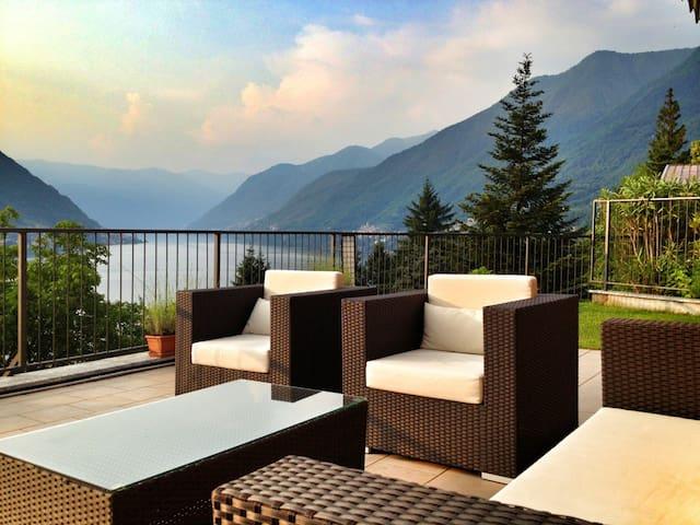 COMO LAKE AMAZING VIEW - Faggeto Lario - Apartemen