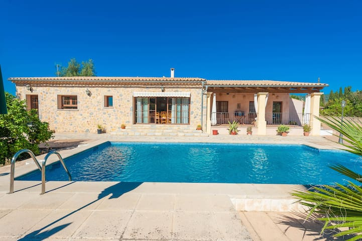 Blanquers - villa with pool - Binissalem