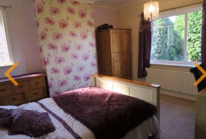 Beautiful double room. With desk - Penwortham - Leilighet