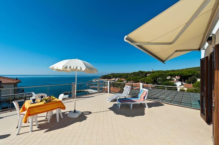 Wonderful view for a nice holiday - Rosignano Marittimo - Departamento