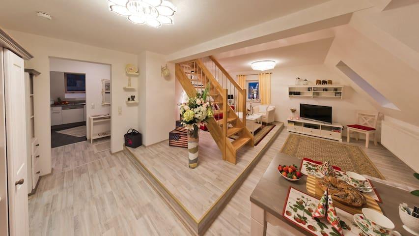 Eine sympatische Wohnung auf der schwäbischen Alb - Rosenfeld - Apartamento