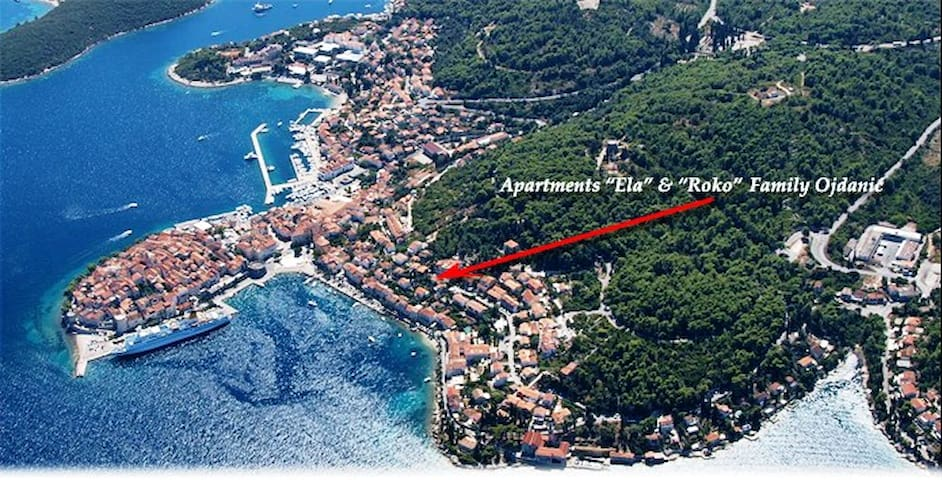 """""""ELA"""" - A/2 pss-sea view-balcony-P - Korčula"""